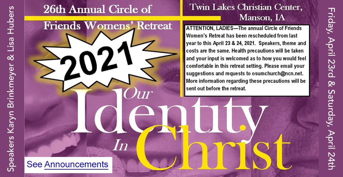 Womens Retreat 2021